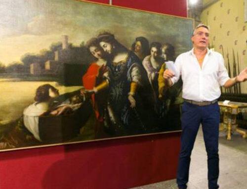 Opera Mosè salvato dalle acque in prestito temporaneo al Museo Civico Gaetano Filangieri